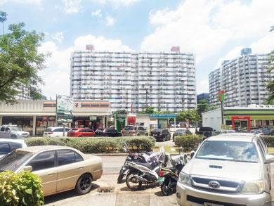 ขายถูกคอนโดเมืองทองธานีอาคารP2